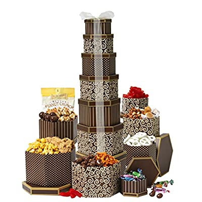 Broadway Basketeers Gift Tower Deluxe