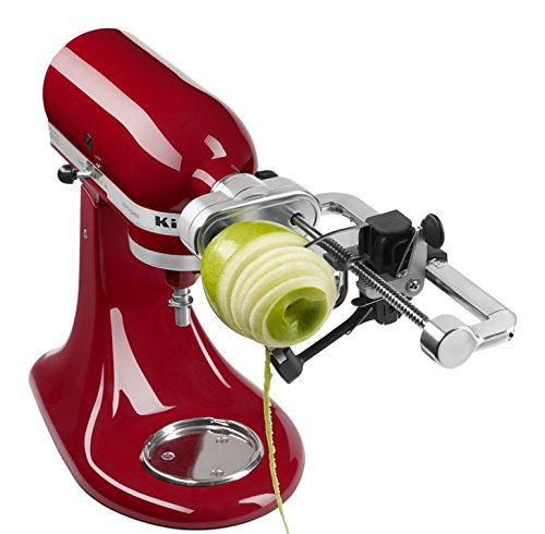 KitchenAid KSM1APC Spiralizer Attachment with Peel, Core and Slice (Kitchenaid Pasta Maker Attachment compare prices)