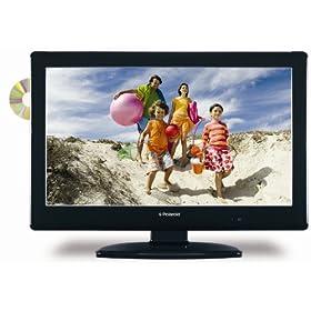 Polaroid 32-Inch LCD HDTV/DVD Combo, Black