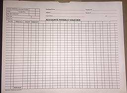 Accounts Payable Voucher Envelopes - Quantity 100 (White)