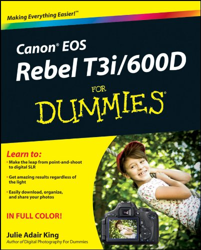 Download Canon EOS Rebel T3i / 600D For Dummies