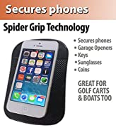 Premium Cell Pads by SlipToGrip ® TWIN PACK - Two Universal Cell Pads and Alcohol Pad. Sticky Anti-Slip GEL Pads - Holds Cell Phones, Sunglasses, Coins, Golf Cart, Boating, Speakers. REPORT SELLER if no SLIPTOGRP trademark on Cell Pad..