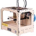 Eteyo 3d Printer Dual Extruder 2 Spools Abs Filament Makerbot Fully Assembled