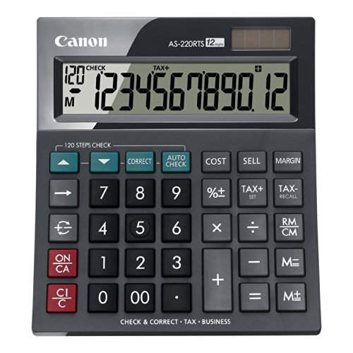 Canon-AS-220RTS-12-stelliger-Tischrechner