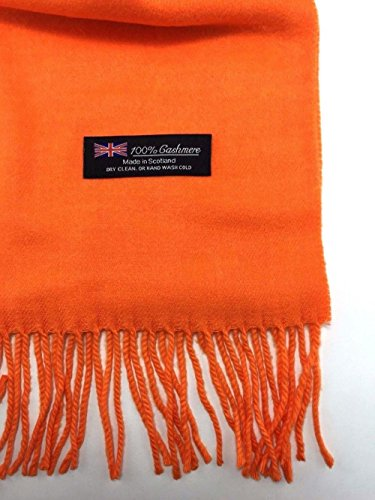 Orange_Solid Scarf 72