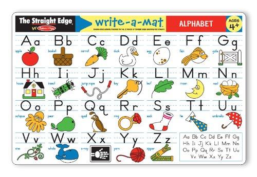 Melissa & Doug Alphabet Write-A-Mat - 1