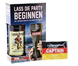 Captain Morgan - Original Spiced Gold Rum 35% - 0,7l inkl. Glas und Kapitänsbinde