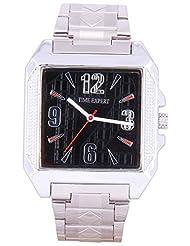 Time Expert Analogue Black Dial Men's Watch - TE100353