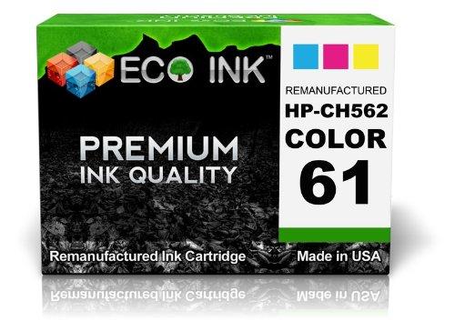 Eco Ink © Compatible / Remanufactured For Hp 61 Ch562Wn (1 Color) Ink Cartridges For Deskjet 1000, 2000 - J210A, 2050 - J510D, 3050 - J610A, 1050, 2000 - J210B, 2050 - J510E, 3050 - J610B, 1050 - J410C, 2000 - J210C, 3000, 3050 - J610C, 1050 - J410B, 2000