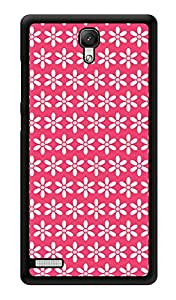 "Humor Gang Simple Flowers Print Printed Designer Mobile Back Cover For ""Xiaomi Redmi Note - Xiaomi Redmi Note 4G"" (3D, Glossy, Premium Quality Snap On Case)"