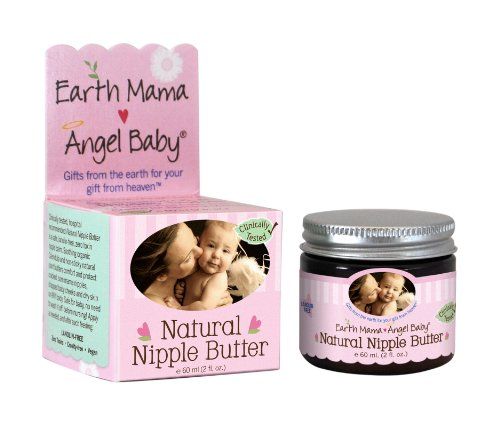 Earth Mama Angel Baby Natural Nipple Butter,
