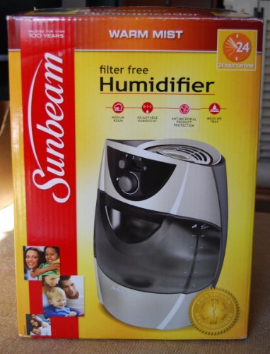 Image of Sunbeam Filter Free Warm Mist Humidifier SWM2411 (SWM2411)