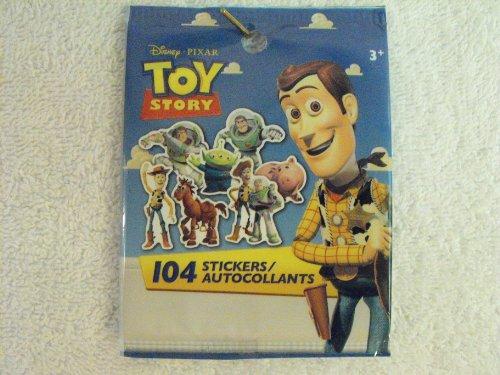 Disney Pixar Toy Story 104 Stickers/Autocollants