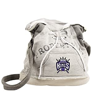 NBA Sacramento Kings Hoodie Duffel (Grey) by Pro-FAN-ity Littlearth