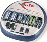Ansmann Energy 5207123 16 Battery Charger