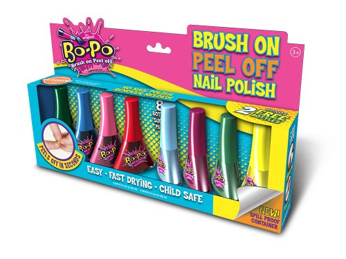 Bo-Po Nail Polish (8-Pack), Colors May Vary