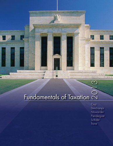 MP Fundamentals of Taxation 2013 Edition with TaxAct Software