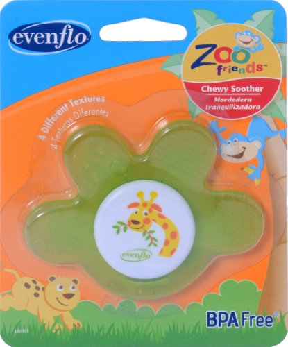 Evenflo Zoo Friends Chewy Soother Paw
