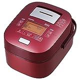 東芝 真空圧力IHジャー炊飯器(5.5合炊き) グランレッドTOSHIBA 真空圧力かまど炊き(真空圧力IH保温釜) RC-10VXJ-R