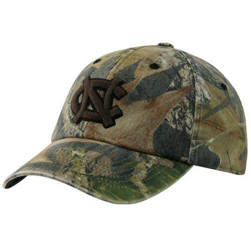 Top of the World North Carolina Tar Heels (UNC) Camo Mossy II Flex Fit Hat