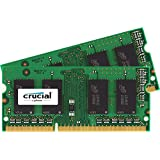 Crucial 16GB Kit (8GBx2) DDR3L-1600 SODIMM Memory for Mac (CT2K8G3S160BM )