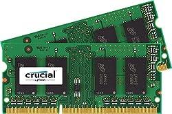 Crucial 4 Gb Kit (2 Gb X 2) Ddr3 1066 Mt/S (Pc3-8500) Cl7 Sodimm 204-Pin For Mac (Ct2C2G3S1067M)