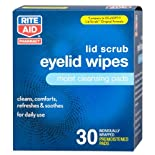 Rite Aid Eyelid Wipes, 30 ea