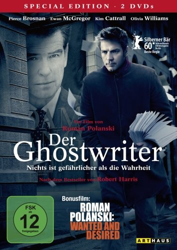 Der Ghostwriter / 2 DVD Special Edition (inkl. Bonusfilm Roman Polanski: Wanted and Desired