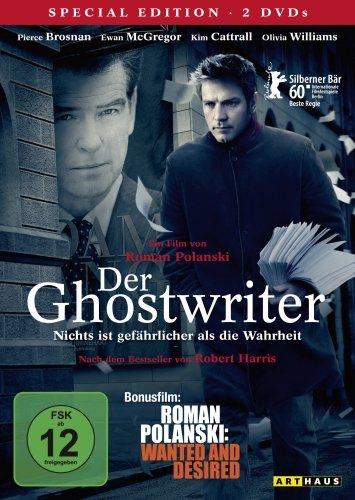 Der Ghostwriter / 2 DVD Special Edition (inkl. Bonusfilm Roman Polanski: Wanted and Desired
