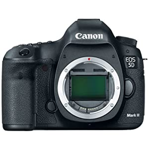 Canon Eos 5d Mark III 22.3 Mp Full Frame Cmos With 1080p Full-HD Video Mode Digital Slr Camera Body