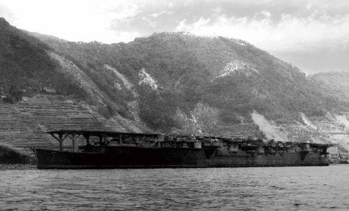 フジミ模型 1/700 特シリーズ No.65 日本海軍航空母艦 龍鳳 昭和20年