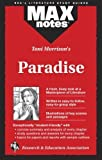 img - for Toni Morrison's Paradise (MAXnotes) by David M. Gracer (1999-07-01) book / textbook / text book