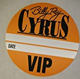 Billy Ray Cyrus Backstage Pass VIP Orange