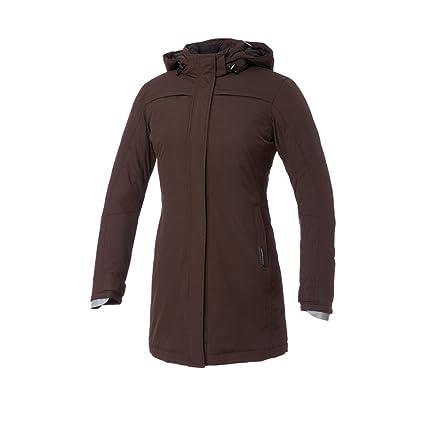 Tucano urbano 8908WF021MS6 bRIGITTE bARBET-respirant, coupe-vent et étanche 3/4 length women's padded jacket, marron foncé taille xL