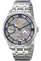Tissot Men's T0994051141800 T-complication Analog Display Swiss Automatic Silver Watch