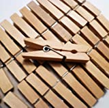 "Sturdy Small Craft Clothespins 1 3/4"" - 48/pkg"