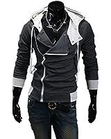 Aokin Assassin's Creed Revelations Desmond Miles Cosplay Costume Hoodie Jacket