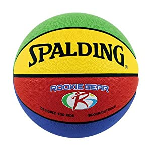 Spalding Rookie Gear Indoor/Outdoor Composite 27.5 Youth Basketball from Spalding Basketball