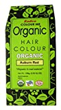 RADICO-ACE-100 %ORGANIC HAIR COLOUR - AUBURN RED COLOUR-MADE WITH HERBS-USDA ORGANIC CERTIFIED (NO AMMONIA,NO PEROXIDE,NO PPD)