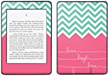 Kindle Paperwhite Decal/Skin Kit, Live Laugh Love