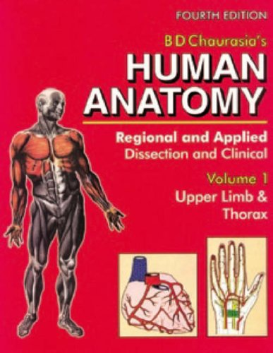 Human Anatomy: Regional & Applied (Dissection & Clinical) : Upper Limb & Thorax With CD: 1