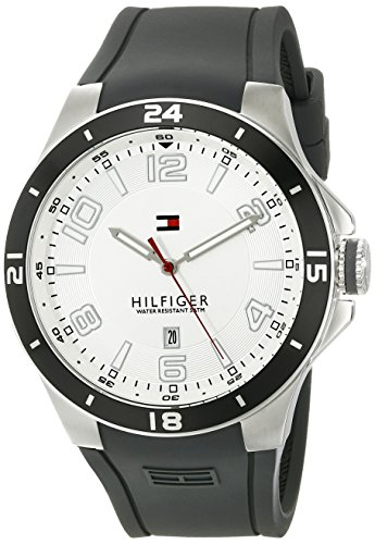Tommy-Hilfiger-Mens-1790863-Sport-Bezel-and-Silicon-Strap-Watch