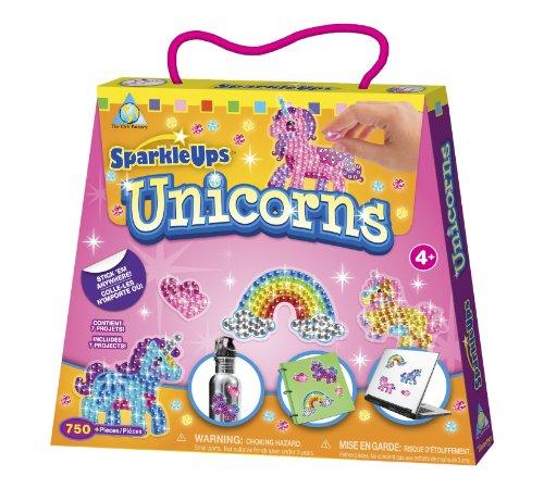 The Orb Factory SparkleUps Unicorns, (550+Pieces)