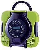 TWINBIRD 防水CDプレーヤー CD ZABADY ライムグリーン AV-J165GR