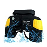 Hooway 7x50 Waterproof Floating Marine Binoculars w/ Internal Rangefinder & Compass