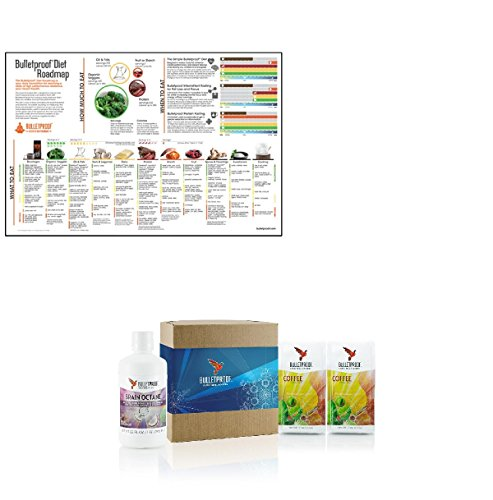 Bulletproof Upgraded Coffee Brain Starter Kit and Poster Set (Bulletproof Coffee Set compare prices)