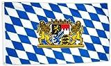 Sports - Fahne Flagge Bayern 90 x 150 cm
