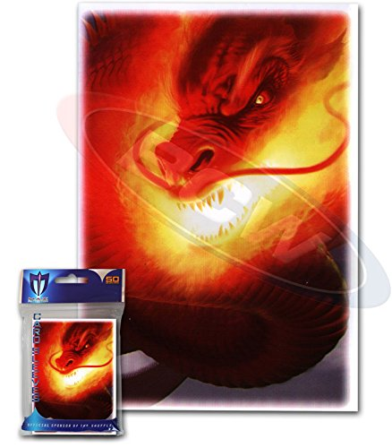 "Max Protection 100 ""Inferno"" MTG Size Deck Protectors Magic Card Sleeves"