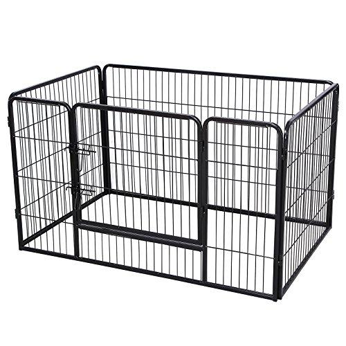 songmics-recinzione-recinto-per-cani-conigli-animali-di-ferro-nero-122-x-80-x-70-cm-ppk74h