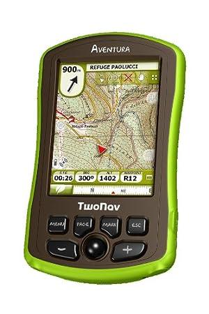 TwoNav Aventura GPS d'extérieur, Europe de l'ouest + topo partielle Allemagne Langue allemande